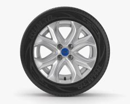 Ford Ecosport Llanta 001 Modelo 3D