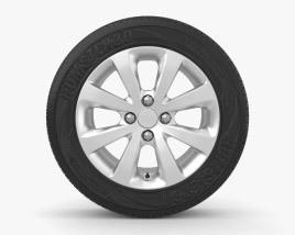 3D model of Kia Rio 15 inch rim 002