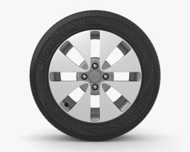 3D model of Kia Rio 16 inch rim 001