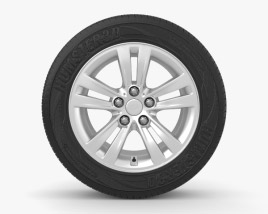 3D model of Kia Sportage 16 inch rim 001