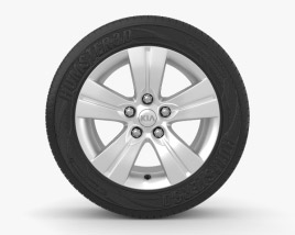 3D model of Kia Sportage 17 inch rim 001