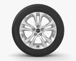 3D model of Kia Ceed 17 inch rim 001