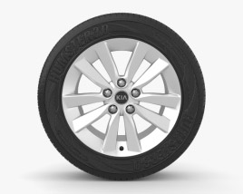 3D model of Kia Ceed 17 inch rim 002