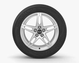 3D model of Kia Ceed 17 inch rim 003