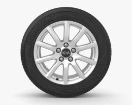 3D model of Kia Ceed 16 inch rim 003