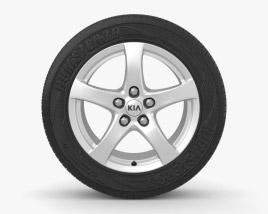3D model of Kia Ceed 17 inch rim 004