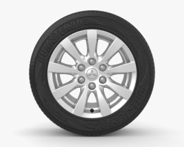3D model of Mitsubishi Pajero 18 inch rim 001