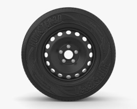 Mitsubishi Outlander XL 16 inch rim 001 3D model