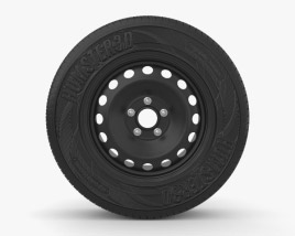 3D model of Mitsubishi Outlander 16 inch rim 001