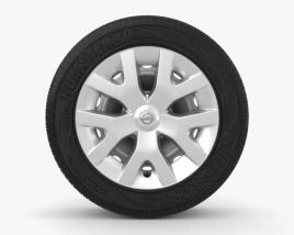 3D model of Nissan Juke 16 inch rim 001