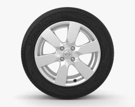 Nissan Note 16 inch Magnetite 3D model