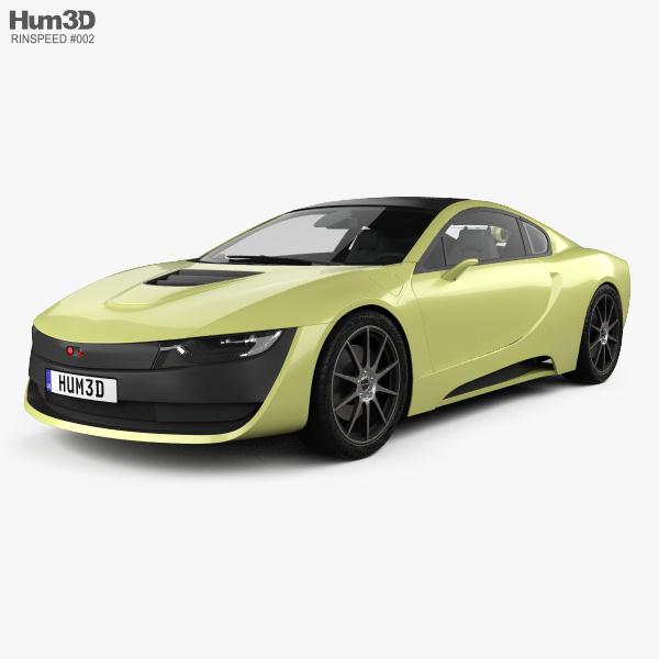 3D model of Rinspeed Etos 2016
