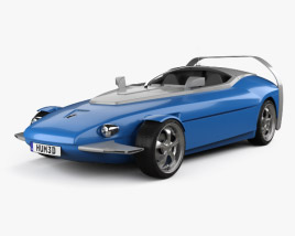 Rinspeed Splash 2004 3D model