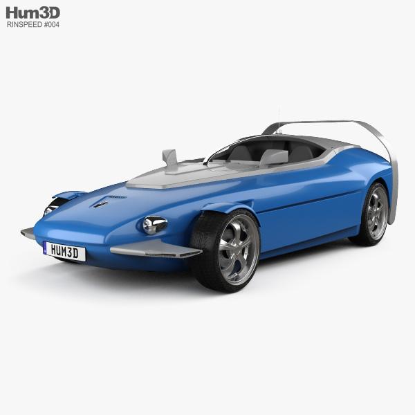 3D model of Rinspeed Splash 2004
