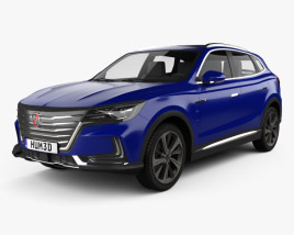 3D model of Roewe Marvel X 2018