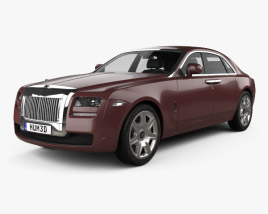 3D model of Rolls-Royce Ghost 2011