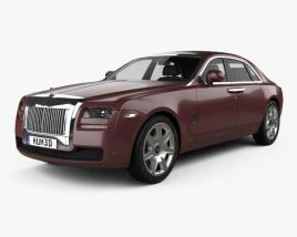 3D model of Rolls-Royce Ghost 2011