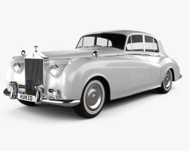 3D model of Rolls-Royce Silver Cloud II saloon 1959