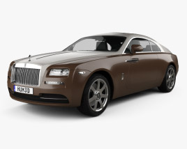 3D model of Rolls-Royce Wraith 2014