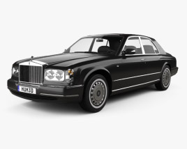 3D model of Rolls-Royce Silver Seraph 1998