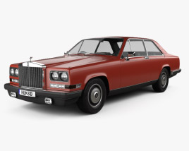 3D model of Rolls-Royce Camargue 1975
