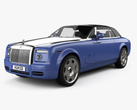 3D model of Rolls-Royce Phantom Drophead Coupe 2008