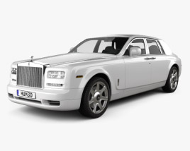 3D model of Rolls-Royce Phantom sedan 2012