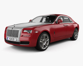 3D model of Rolls-Royce Ghost 2014