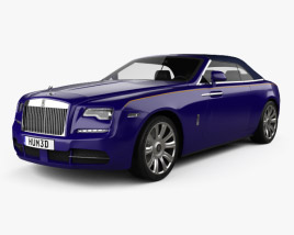 3D model of Rolls-Royce Dawn 2017