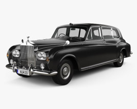 3D model of Rolls-Royce Phantom Park Ward Limousine 1963