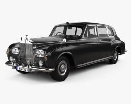 3D model of Rolls-Royce Phantom Park Ward Limousine 1963