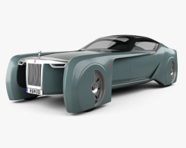 3D model of Rolls-Royce 103EX Vision Next 100 2016