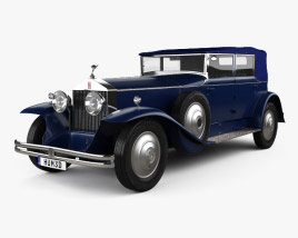 3D model of Rolls-Royce Phantom I 1929