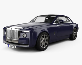 3D model of Rolls-Royce Sweptail 2017