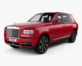 3D model of Rolls-Royce Cullinan 2019