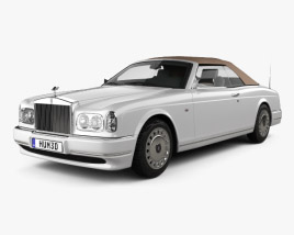 3D model of Rolls-Royce Corniche 2000