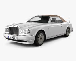 3D model of Rolls-Royce Corniche 2000