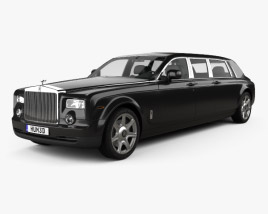 3D model of Rolls-Royce Phantom stretch Mutec 2012