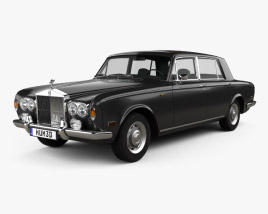 3D model of Rolls-Royce Silver Shadow LWB 1965