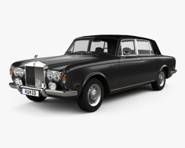 3D model of Rolls-Royce Silver Wraith LWB 1965
