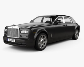 3D model of Rolls Royce Phantom EWB sedan 2012