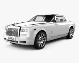 3D model of Rolls-Royce Phantom coupe 2012