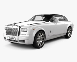 3D model of Rolls-Royce Phantom Drophead coupe 2012
