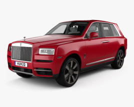 3D model of Rolls-Royce Cullinan with HQ interior 2019