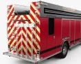 Rosenbauer Command Walk-In Rescue Fire Truck 2017 3d model
