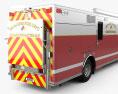 Rosenbauer Walk In Rescue Fire Truck 2017 3d model