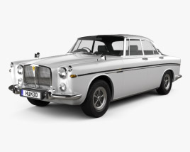 3D model of Rover P5B coupe 1973
