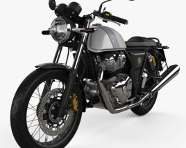 3D model of Royal Enfield Continental GT650 2019