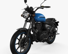 3D model of Royal Enfield Thunderbird X500 2019