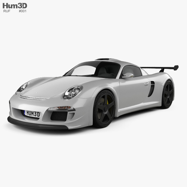 3D model of Ruf CTR3 Clubsport 2012